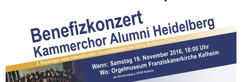 """Coro con Cello"" – 19. November, 18 Uhr, Orgelmuseum Franziskanerkirche Kelheim"