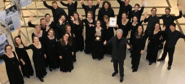1. Platz beim 8. Internationalen Danziger Chorfestival
